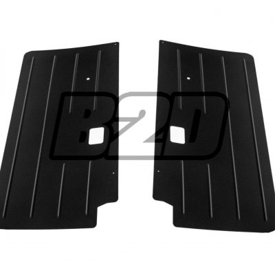 BMW E30 COUPE Front Door Panels Aluminium 0089