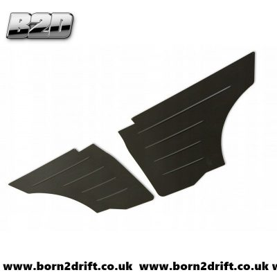 BMW E36 COUPE Rear Aluminum Door Panels